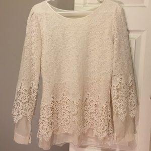 Beautiful blouse - unknown brand and size -no tags